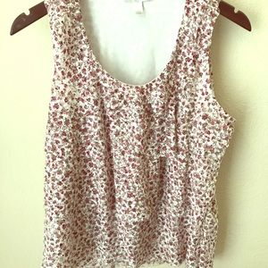 Dress Barn Tops - Dressbarn tiered floral top